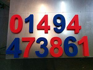 Foam number