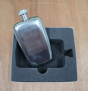 Foam case insert for hip flask 2